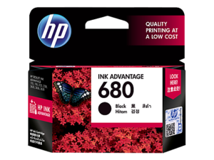 HP 680 Black Ink Cartridge