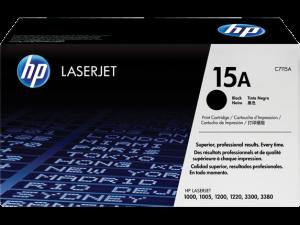 HP C7115A Black Original LaserJet Toner Cartridge