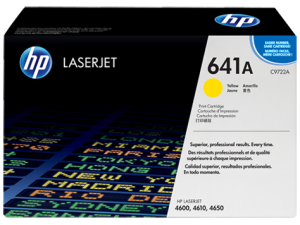 HP C9722A Yellow Original LaserJet Toner Cartridge