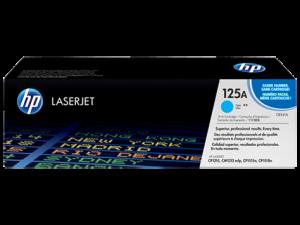 HP CB541A Cyan Original LaserJet Toner Cartridge