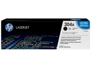 HP CC530A Black Original LaserJet Toner Cartridge