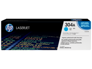 HP CC531A Cyan Original LaserJet Toner Cartridge