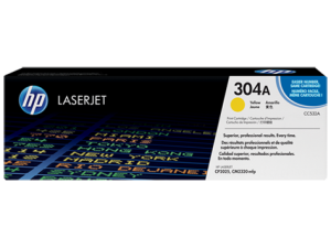 HP CC532A Yellow Original LaserJet Toner Cartridge