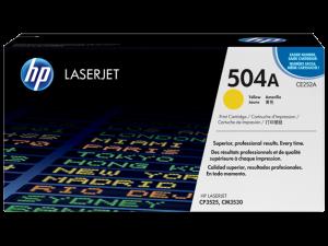 HP CE252A Yellow Original LaserJet Toner Cartridge