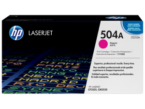 HP CE253A Magenta Original LaserJet Toner Cartridge