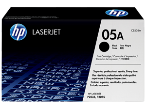 HP CE505A Black Original LaserJet Toner Cartridge