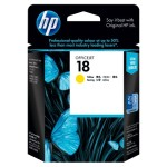 HP GT52 Yellow Ink Bottle