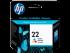 HP 22 Tri-color Ink Cartridge
