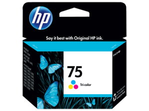 HP 75 Tri-color Ink Cartridge