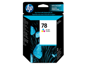 HP 78 Tri-color Ink Cartridge