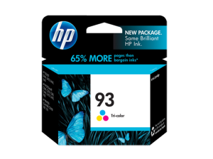 HP 93 Tri-color Ink Cartridge