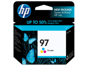 HP 97 Tri-color Ink Cartridge