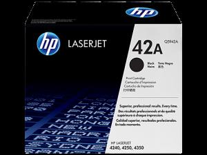 HP Q5942A Black Original LaserJet Toner