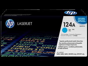 HP Q6001A Cyan Original LaserJet Toner Cartridge