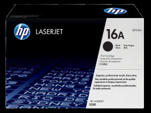 HP Q7516A Black Original LaserJet Toner Cartridge
