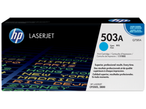 HP Q7581A Cyan Original LaserJet Toner Cartridge