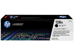 HP CE320A Black Original LaserJet Toner Cartridge