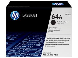 HP CC364A Black Original LaserJet Toner Cartridge