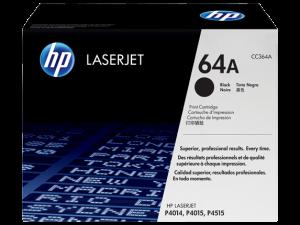 HP CC364A Black Original LaserJet Toner Cartridge