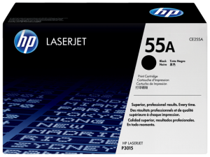 HP CE255A Black Original LaserJet Toner Cartridge