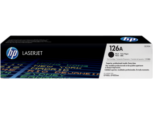 HP CE310A Black Original LaserJet Toner Cartridge