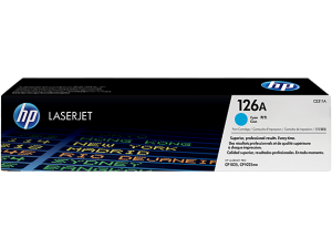 HP CE311A Cyan Original LaserJet Toner Cartridge