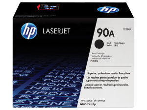 HP CE390A Black Original LaserJet Toner Cartridge