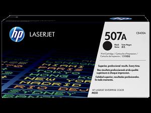 HP CE400A Black Original LaserJet Toner Cartridge