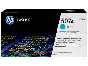 HP CE401A Cyan Original LaserJet Toner Cartridge