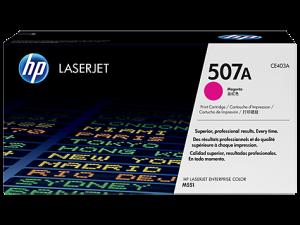 HP CE403A Magenta Original LaserJet Toner Cartridge