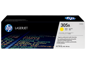 HP CE412A Yellow Original LaserJet Toner Cartridge