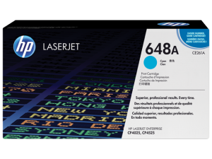HP CE261A Cyan Original LaserJet Toner Cartridge