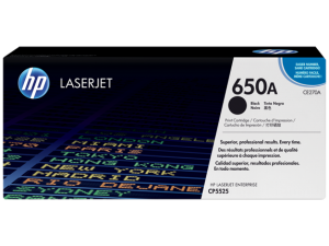 HP CE270A Black Original LaserJet Toner Cartridge