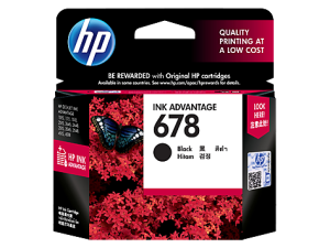 HP 678 Black Ink Cartridge